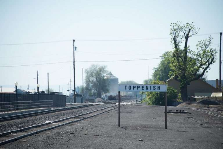 Toppenish City Sign