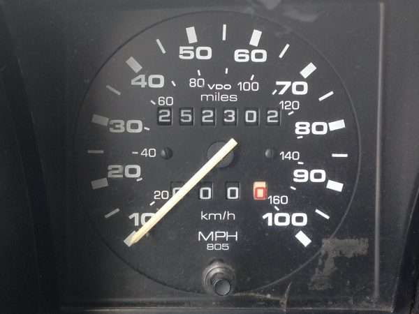 Odometer at the Start